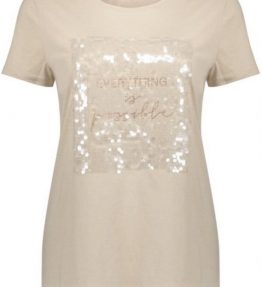 Geisha t-shirt vintage off-white