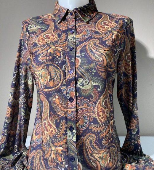 Angeline milan blouse print