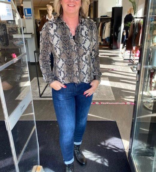Es & Sy blouse print